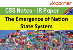 international relations for css