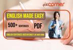 English to Urdu Sentences | Spoken English Set 14, With PDF