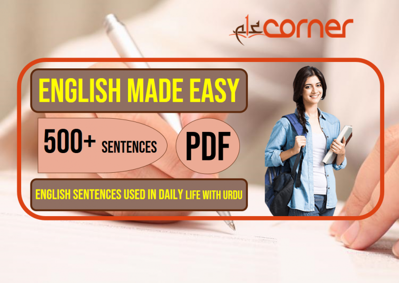 English to Urdu Sentences | Spoken English Set 14, With PDF
