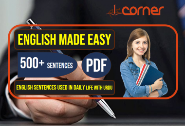English to Urdu Sentences | Spoken English Set 13, With PDF