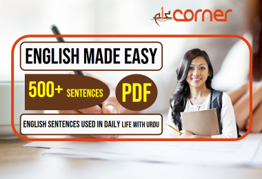 English to Urdu Sentences | Spoken English Set 12, With PDF