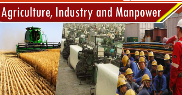 Agriculture, Industry and Manpower CSS, PMS Notes articles for competitive exams. Pakistan Affairs notes for CSS, PMS, IAS, UPSC.