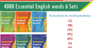 4000 Essential English words PDF Download for free. Download Essential English Words Complete Set of 6 Books. 4000 essential words PDF All books Download.