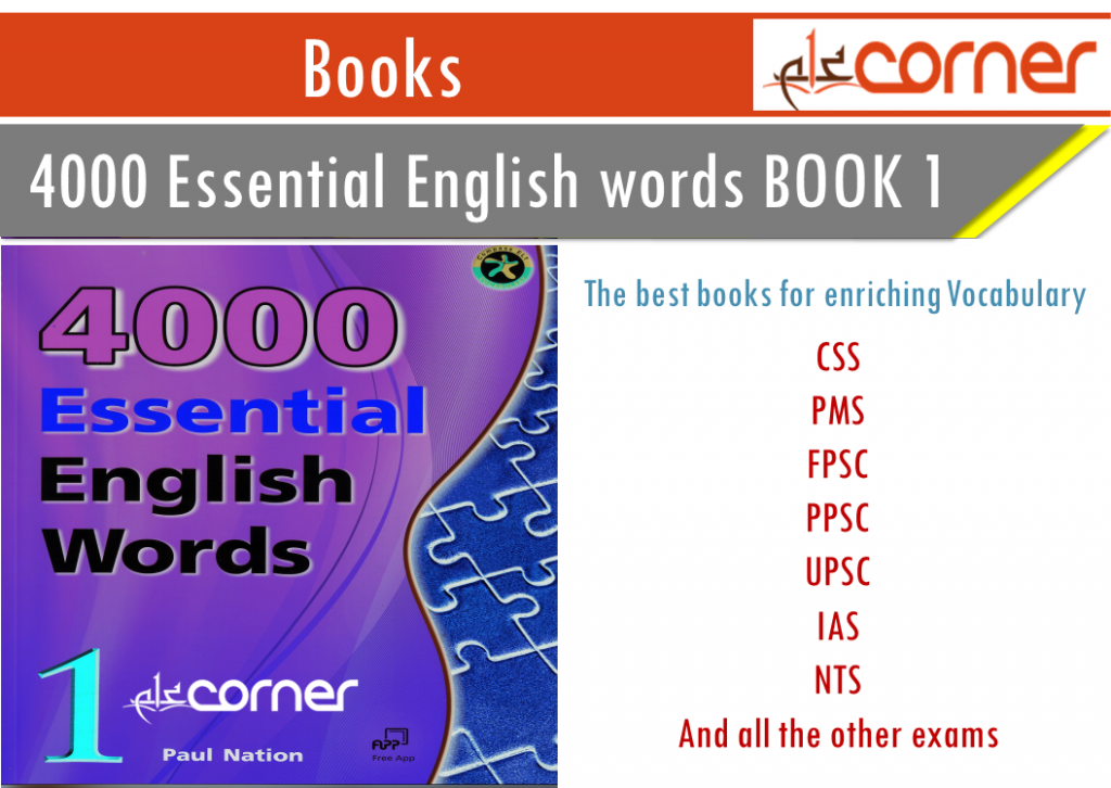 4000 Essential English WORDS Download in PDF BOOK 1