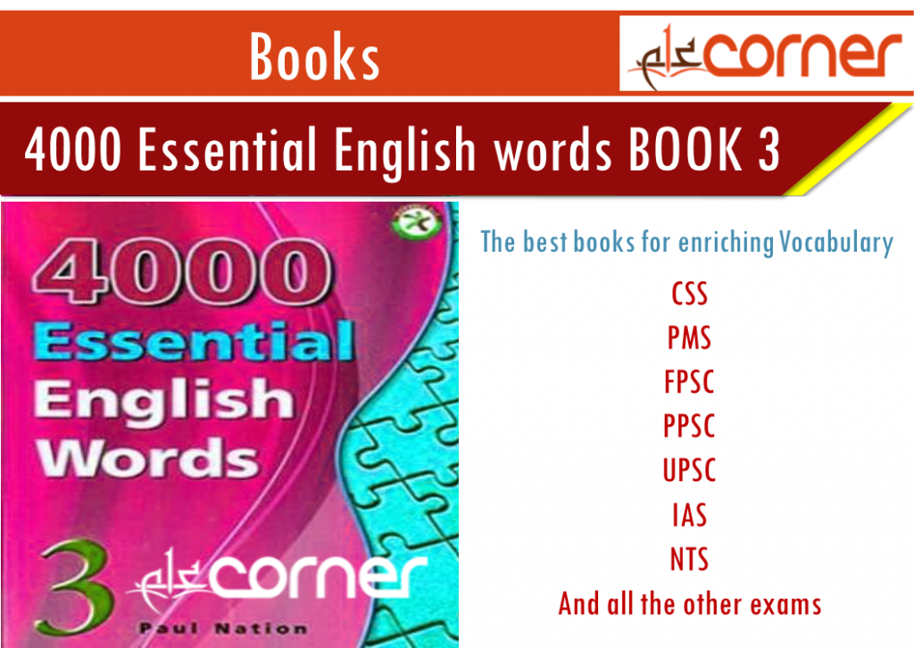 4000 ENGLISH vocabulary WORDS Download in PDF BOOK 3