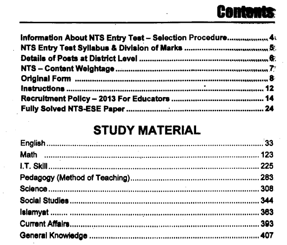Teacher guide, Fully Solved Up-to-Date Past Papers