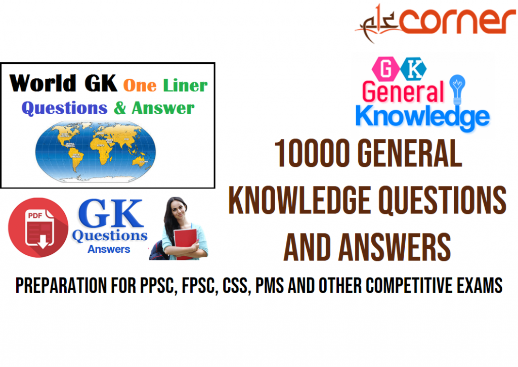 10000 general knowledge questions and answers | Download in