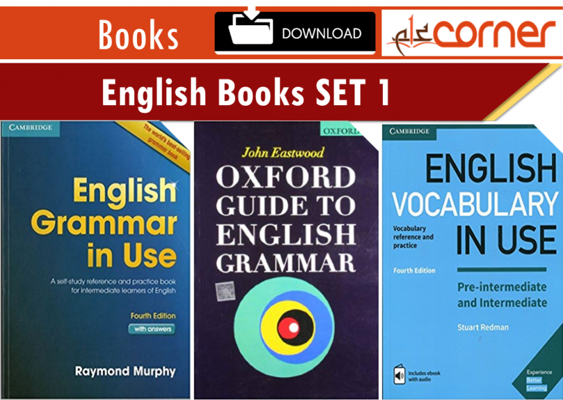 30+ English Books for Grammar and Vocabulary Download Free SET 1
