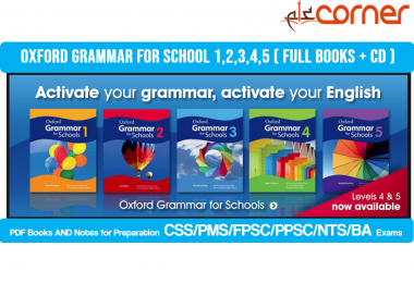 Oxford Grammar for school 1,2,3,4,5 ( Full books + CD )