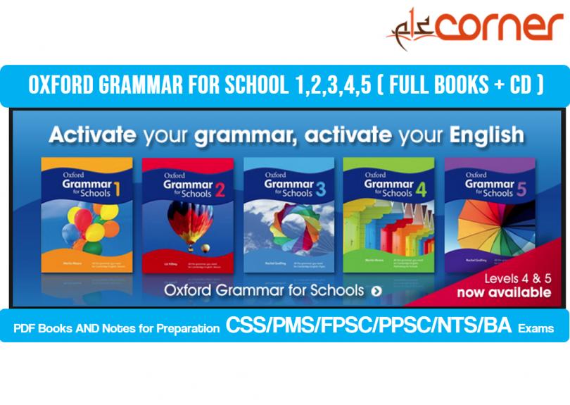Oxford Grammar for school 1,2,3,4,5 ( Full books + CD )