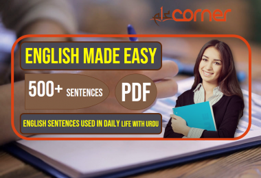 English to Urdu Sentences | Spoken English Set 16, With PDF