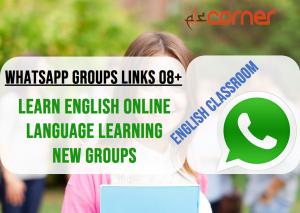 WhatsApp Groups Links 25+ (Educational, English learning, PDF Books)