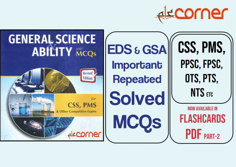 Everyday Science & GSA Important and Repeated Solved MCQs with