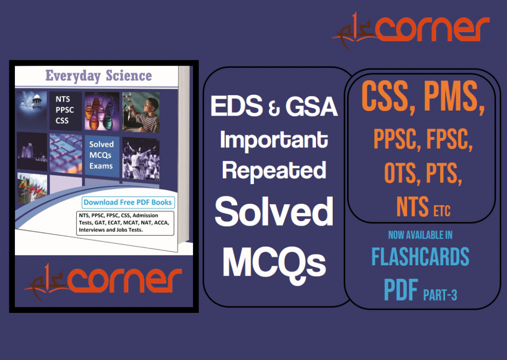 Everyday Science & GSA Important and Repeated Solved MCQs
