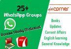WhatsApp Groups Links 25+ (Educational, English learning, PDF Books, Latest news), Download Study Material PDF for exams preparation for free