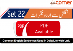 English to Urdu Sentences Spoken English 22