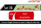 English to Urdu Sentences Spoken English 28