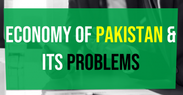 Current situation of Pakistan economy Economy of Pakistan and its problems