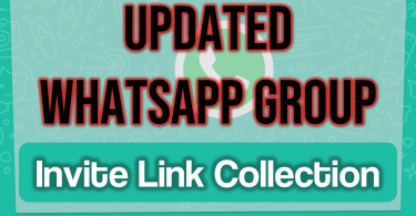 Whatsapp Group Invite Link Collection | Updated Whatsapp Group