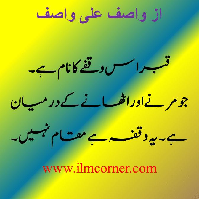 Wasif Ali Wasif Quotes In Urdu Pdf