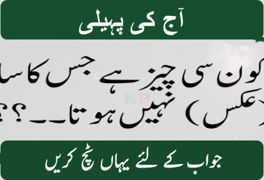 Hard Urdu riddles and answers