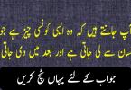 Urdu paheliyan with answer